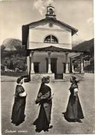 Friuli Venezia Giulia-veduta Donne In Costumi Carnici Tematica Costumi Folklore (gr.-b.n.-v.gg/1955) - Italy