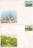 Lot De 5 Enveloppes Nations Unies United Nations Vereinte Nationen - Collections, Lots & Séries