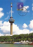 D20187 CARTE MAXIMUM CARD FD 2005 NETHERLANDS - EUROMAST ROTTERDAM - BEAUTIFUL HOLLAND - CP ORIGINAL - Architecture
