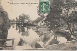 CPA 18 CONCRESSAULT Bief Du Moulin Riche 1909 - Francia
