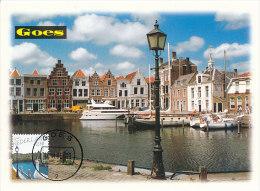 D20192 CARTE MAXIMUM CARD FD 2005 NETHERLANDS - CITY HARBOR GOES - BEAUTIFUL HOLLAND - CP ORIGINAL - Architecture