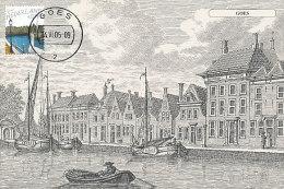 D20193 CARTE MAXIMUM CARD FD 2005 NETHERLANDS - CITY HARBOR GOES - BEAUTIFUL HOLLAND - CP ORIGINAL - Architecture