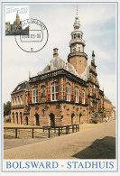 D20194 CARTE MAXIMUM CARD FD 2005 NETHERLANDS - CITY HALL BOLSWARD - BEAUTIFUL HOLLAND - CP ORIGINAL - Architecture