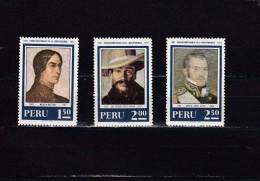 Peru Nº 536 Al 538 - Peru