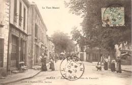 81 - ALBAN,  L' ARRIVEE DU COURRIER - AVENUE D´ALBI (DILIGENCE - ECRITE 1908) - Alban
