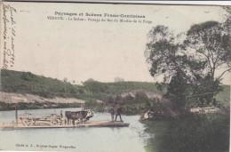 Vereux - Bac Du Moulin De La Forge Sur La Saône - 1920 Bétail & Charrette - Non Classificati