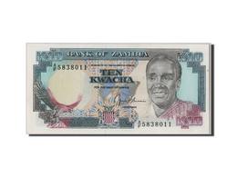 Zambie, 10 Kwacha Type Kaunda - Zambie