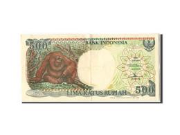 [#304867] Indonésie, 500 Rupiah Type Orang Outan - Indonésie