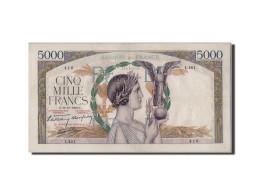 [#305484] 5000 Francs Victoire Type 1934 Impression à Plat, 19 Octobre 1939, Fayette 46.15 - 1871-1952 Anciens Francs Circulés Au XXème