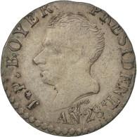 [#43622] Haïti, République, 50 Centimes An 28 (1831), KM 20 - Haïti