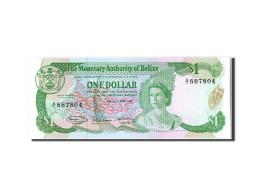 [#304835] Belize, 1 Dollar Type Elizabeth II - Belize