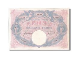 [#204633] 50 Francs Type Bleu Et Rose, 1914, Fayette 14.27 - 1871-1952 Anciens Francs Circulés Au XXème