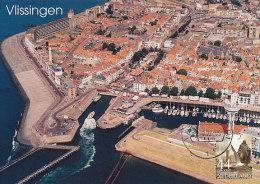 D20231 CARTE MAXIMUM CARD FD 2007 NETHERLANDS - CITY OVERVIEW VLISSINGEN - BEAUTIFUL HOLLAND - CP ORIGINAL - Architecture