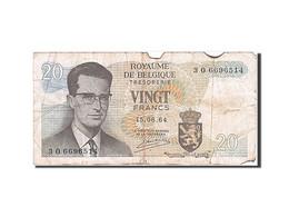 Belgique, 20 Francs, Type Roi Baudouin I - [ 2] 1831-... : Royaume De Belgique