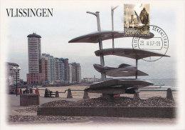 D20233 CARTE MAXIMUM CARD FD 2007 NETHERLANDS - MODERN ARCHITECTURE VLISSINGEN - BEAUTIFUL HOLLAND - CP ORIGINAL - Architecture