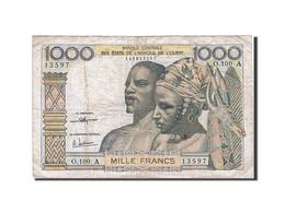 [#257863] Afrique De L'Ouest, 1000 Francs, Type 1959-1965 - Banconote
