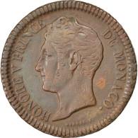 [#83842] Monaco, Honoré V, Un Décime 1838 MC, KM 97.1 - Monaco