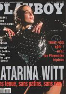 PLAYBOY N° 72 - Décembre 1998 - Janvier 1999 - Katarina WITT - Robert DE NIRO - Jean RENO - Jennifer LOPEZ - Andere
