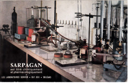 Buvard Sarpagan (cartonné) - Chemist's