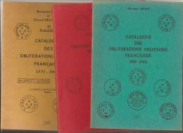 LOT De 3 Catalogues Bernard SINAIS 1979 - Thématiques