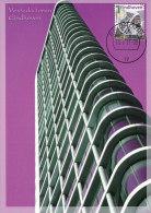 D20261 CARTE MAXIMUM CARD FD 2011 NETHERLANDS - MODERN ARCH. VESTEDA TOWER EINDHOVEN - BEAUTIFUL HOLLAND - CP ORIGINAL - Architecture