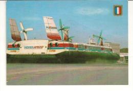 HOVERCRAFT- 2 Cartes D'aéroglisseurs De La Compagnie HOVER SPEED - Hovercrafts