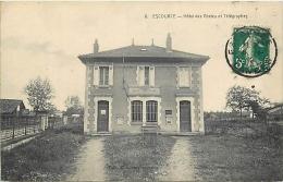 33-1339    CPA  ESCOURCE Hotel Des Postes Et Télégraphes     Belle Carte - Other Municipalities