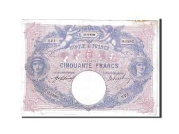 France, 50 Francs Type Bleu Et Rose - 1871-1952 Anciens Francs Circulés Au XXème