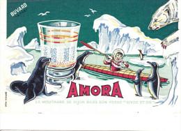 Buvard Amora - Mostard