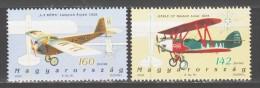 Hungary 2003 Ungarn Mi 4777-4778 History Of Hungarian Aviation / Geschichte Der Ungarischen Luftfahrt **/ MNH - Vliegtuigen