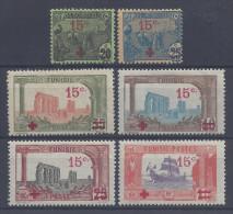 TUNISIE - 1918 -   N° 59 à 64 - XX - X - TB - - Tunisia (1888-1955)