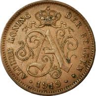 Monnaie, Belgique, Albert I, 2 Centimes, 1919, SUP, Cuivre, KM:65 - 1909-1934: Albert I