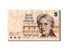 Israël, 5 Lirot Type Szold - Israel