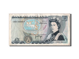 Grande-Bretagne, 5 Livres Type Elizabeth II - 1952-… : Elizabeth II