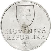 [#89620] Slovaquie, République, 10 Halierov 2001, KM 17 - Slovaquie