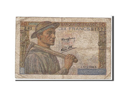 10 Francs Type Mineur - 1871-1952 Circulated During XXth