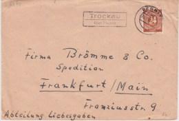 All Bes Ziffer Mi 925 Landpost Stempel Trockau ü Pegnitz Bf 1947 - Zona AAS