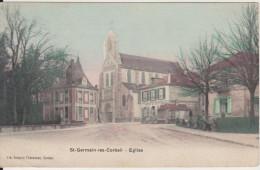 ST GERMAIN LES CORBEIL - EGLISE - Sonstige Gemeinden