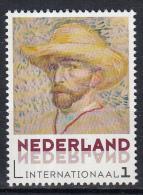 Nederland - Vincent Van Gogh - Uitgiftedatum 5 Januari 2015 - Zelfportretten - Self-Portrait With Straw Hat  - MNH - Netherlands
