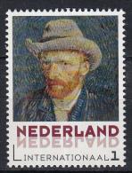 Nederland - Vincent Van Gogh - Uitgiftedatum 5 Januari 2015 - Zelfportretten - Self-Portrait With Grey  Felt Hat  - MNH - Netherlands
