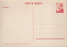 TURKEY - POSTCARD 30K 1964 Mi #P78 - Interi Postali