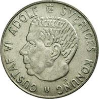 Monnaie, Suède, Gustaf V, Krona, 1966, TTB+, Argent, KM:814 - Suède