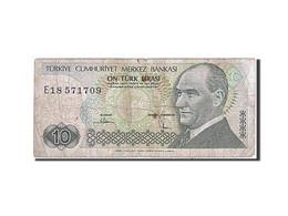 Turquie, 10 Lira, Type Président Ataturk - Turchia