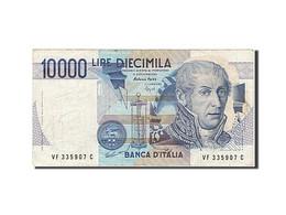 Italie, 10 000 Lire, Type A. Volta - [ 2] 1946-… : République