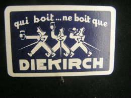 Playing Cards / Carte A Jouer /1 Dos De Cartes  / Brasserie - Brouwerij /  Diekirch Luxembourg - Cartes à Jouer