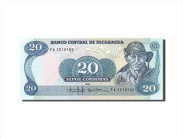 [#255858] Nicaragua, 20 Cordobas, Type G. P. Ordonez - Nicaragua