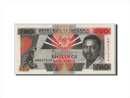 [#305620] Tanzanie, 200 Shilingi Type Mwinyi - Tanzania