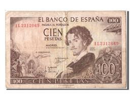 Espagne, 100 Pesetas Type Gustavo Adolfo Becquer - 100 Pesetas