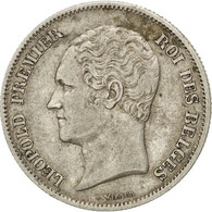 [#42300] Belgique, Léopold I, 2 1/2 Francs Petite Tête 1849, KM 11 - 1831-1865: Léopold I