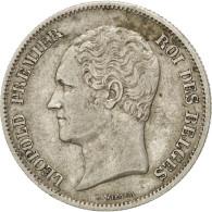 Monnaie, Belgique, Leopold I, 2-1/2 Francs, 1849, Bruxelles, TTB+, Argent, KM:11 - 10. 2 1/2 Franco